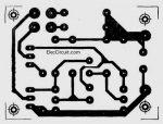 PCB-layout-of-Super-Blinking-Two-LEDs