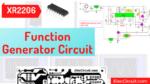 XR2206 function generator circuit