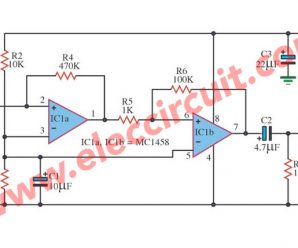 Sound Activated Switch Circuit with PCB
