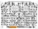 Component Layout 40W Amplifier OCL 2N3055-MJ2955
