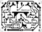 PCB layout 40W Amplifier OCL 2N3055 MJ2955