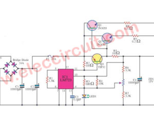 12V, 10A Regulated Power Supply