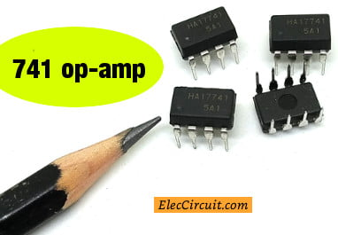 Learn 741 op-amp circuits basic with example