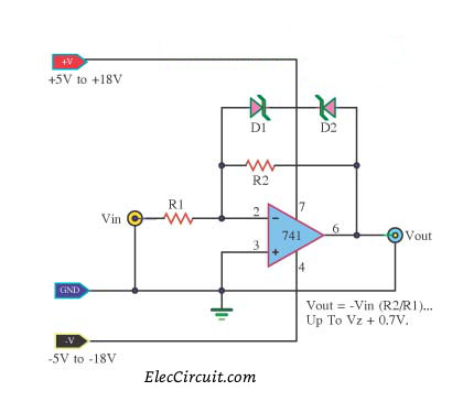 easyelectroniccircuidiagram using ic 741 data schema u2022 rh inboxme co