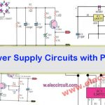 Power Supply circuits with PCB