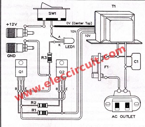 hobby electronics  micro inverter circuits