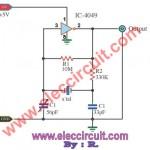Pulse Generator Oscillator 32.768KHz by watch crystal