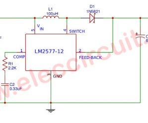 LM2577 5V to 12V DC Converter step up Voltage Regulator