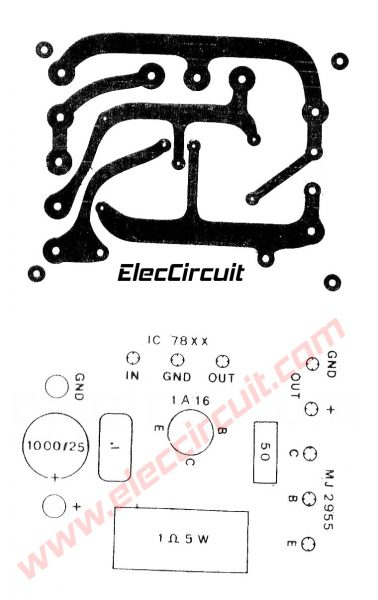 5v 5a power supply circuit