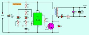 Isolated DC Converter for Digital using 555