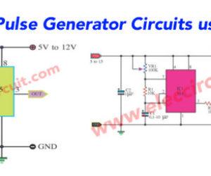 555 Pulse Generator circuits