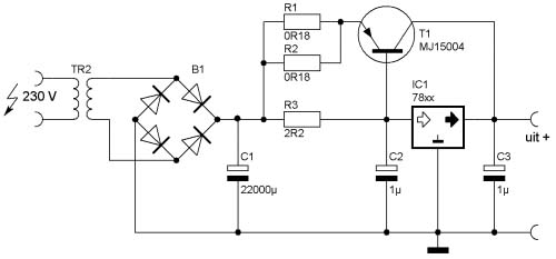 boosting the regulator currents for ic