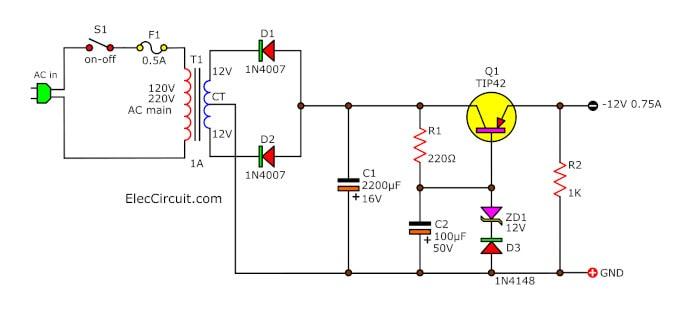 12v Linear Regulator For Transceiver Radio Electronic