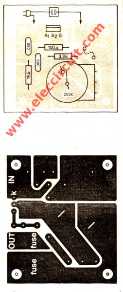 pcb-layout-of-1200-watt-ac-dimmer-by-triac-q4006lt