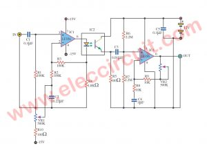 Isolate Ground Amplifier using LF356