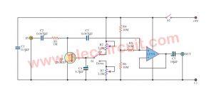 Control signal Automatic Fader using LF351