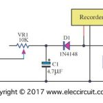 Analog vu meter  schematic