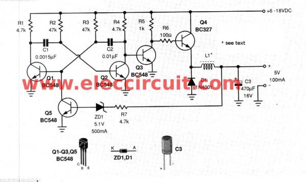 step-down-voltage-converter-5v-with-transistor-bc337