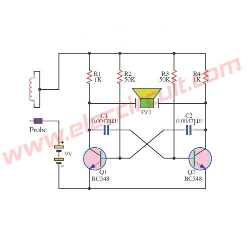 Concentration test circuit