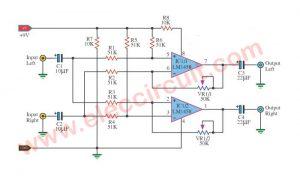 Surround Sound System Circuit Diagram