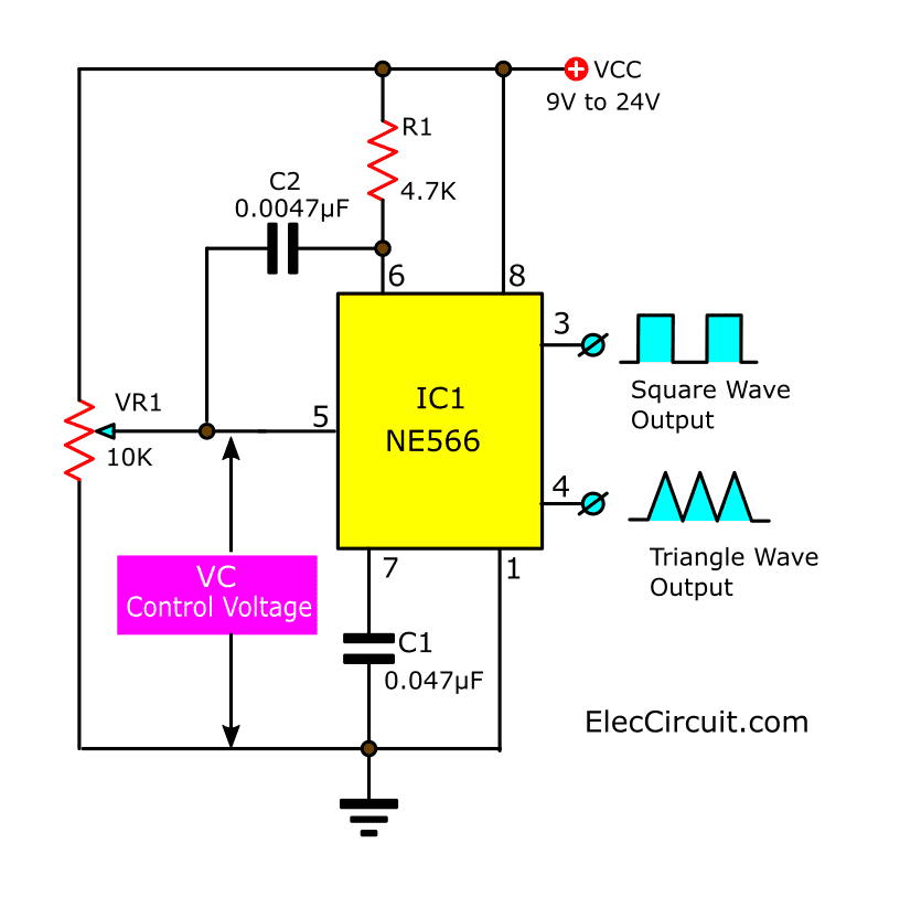 sawtooth-and-pulse-generator-using-NE566