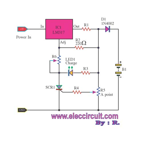 The Most Lead Acid Battery Charger Circuit By Lm317 together with Automatic Battery Charger Controller likewise Electrical Design Of 132 33kv Substation together with 75361 furthermore Digital Code Lock. on automatic battery charger circuit diagram