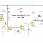 FM receiver circuit using transistor