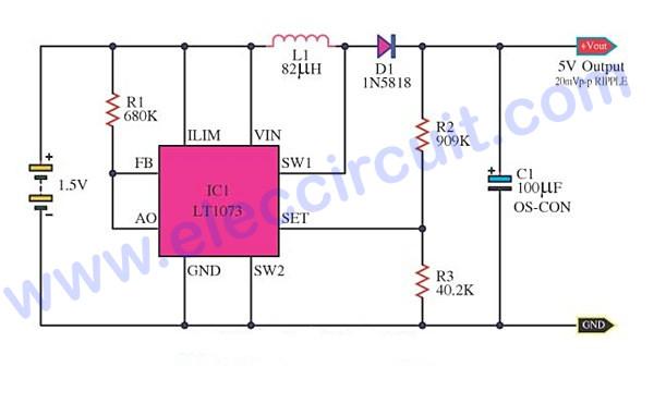 1 5v 12v inverter schematic