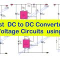 Most DC to DC Converter Step Up Voltage Circuits using LT1073