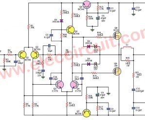 First simple mosfet amplifier circuit by K134+J49