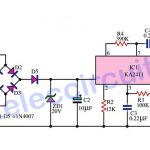 Telephone bell ringer circuit using IC-KA2411