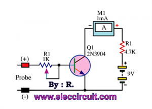 Changing ammeter scale 1mA to 100uA
