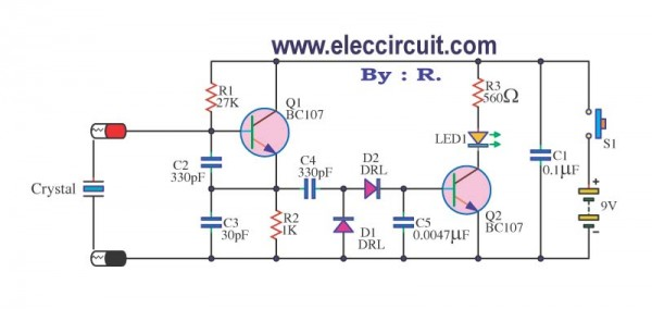 Crystal-tester-circuits-using-bc107,BC109,BC106