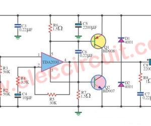30W Amp OTL by TDA2030 transistor