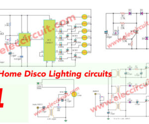 Cheap Home disco lights by SCR-IC555-IC4017