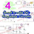 Small 5-volts DC Regulator Circuits