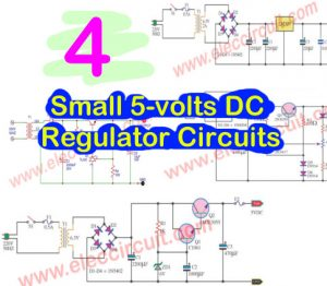 Small 5-volts DC Regulator Circuits