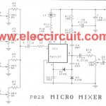 Micro mixer circuit by TA7137