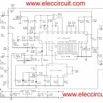 Super digital echo stereo mixer circuit projects using KT5211P