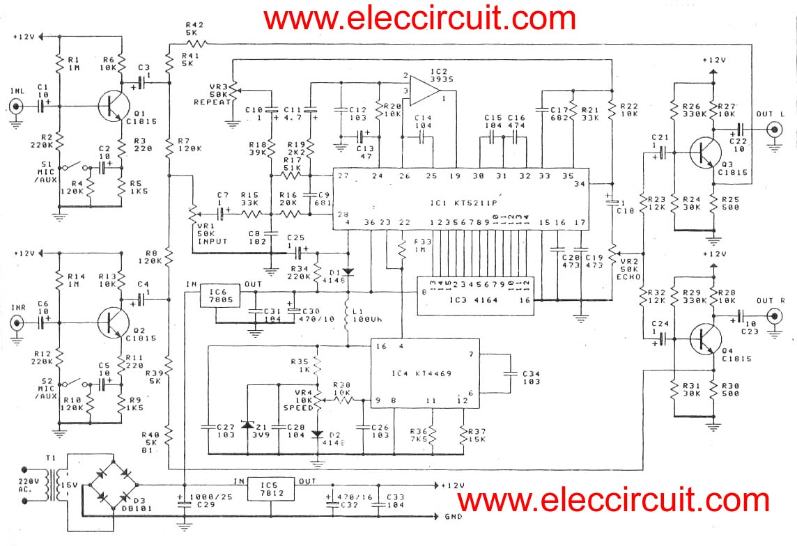 super stereo digital echo circuit echo wiring diagram wiring diagram simonand  at eliteediting.co