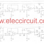 Mini subwoofer circuit using LF347N
