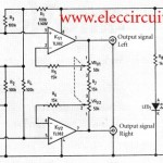 Simple House wide stereo system circuit  using TL082