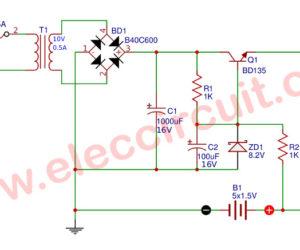 2 Small UPS circuits diagram