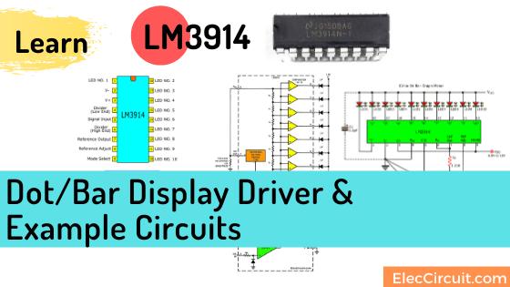 LM3914 Datasheet Dot/Bar Display Driver | VU Meter Circuits