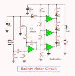 salinity tester meter circuit