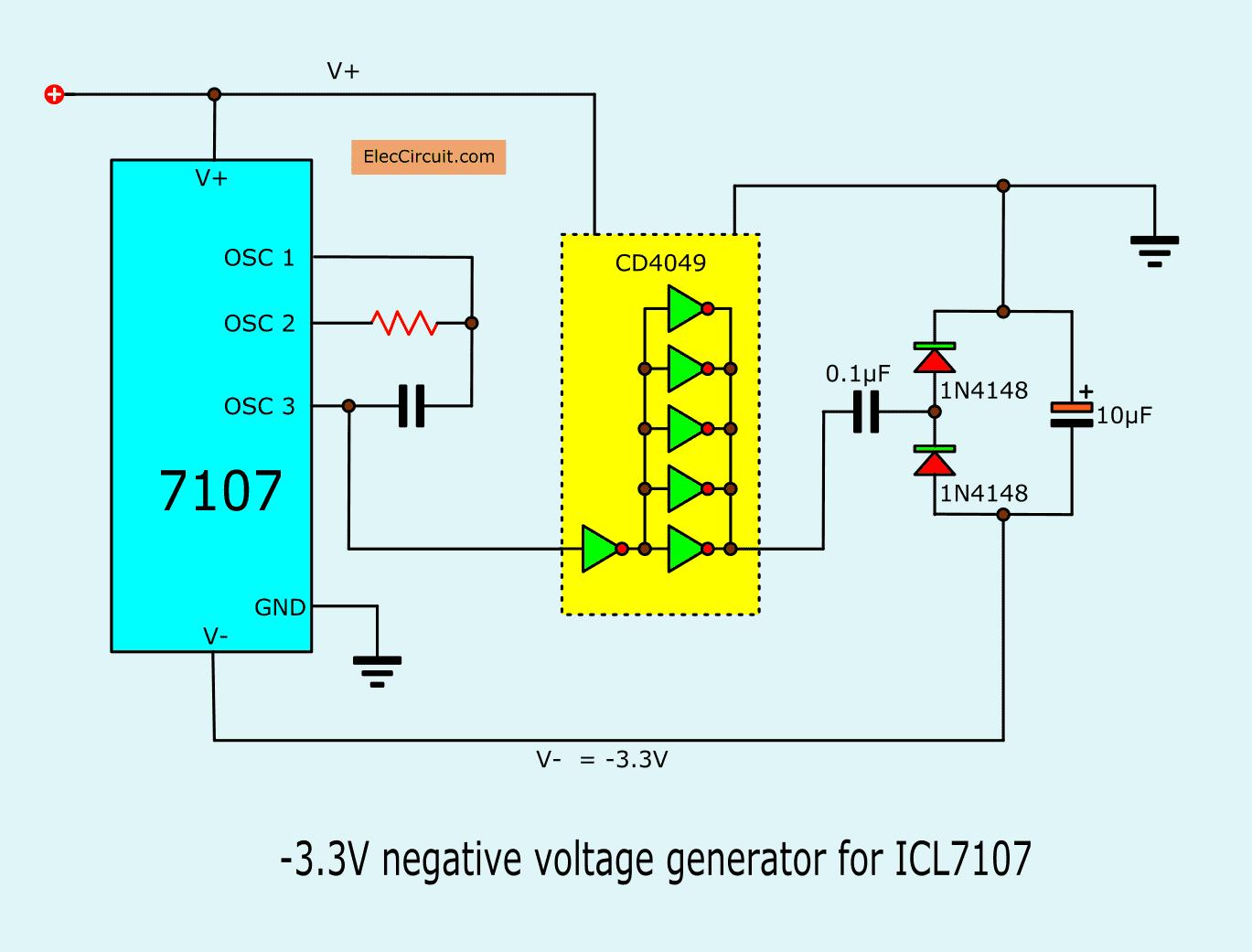 Negative Voltage Generator 4 The Negative Generator