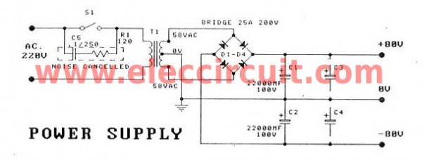 power-supply-of-mosfet-amplifier-for-professionals