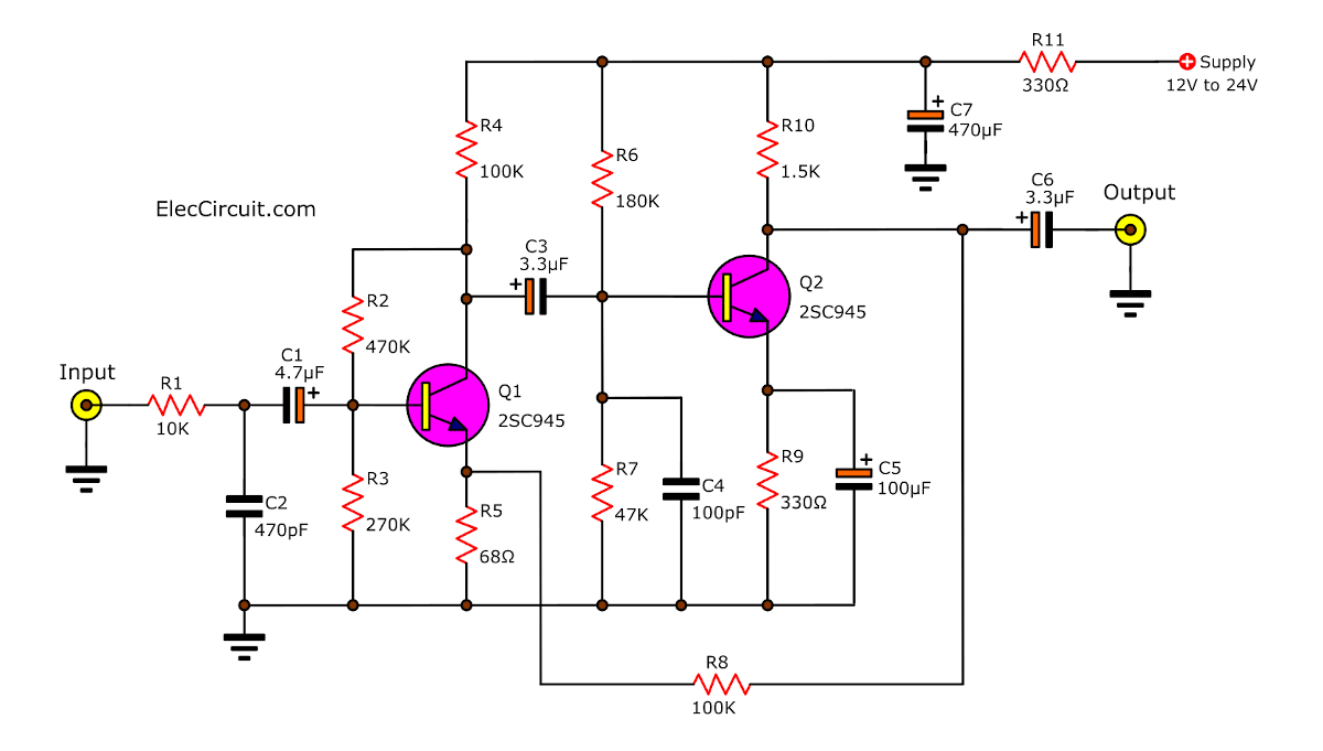 Music in addition 40M CW Schematics furthermore Schematics besides 200w Audio  lifier besides Wiring Up Two 2n3055 Transistors. on transistor pre schematic