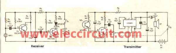 diy-fiber-optic-intercom-circuit