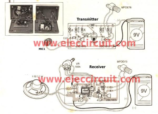 diy-fiber-optic-intercom-pcb-layout